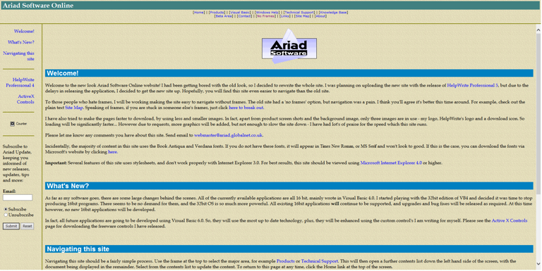 5.2 Home page