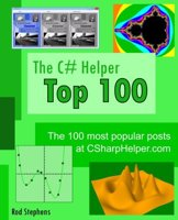 The cover of The C# Helper Top 100